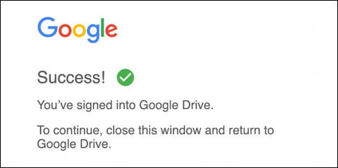 google drive for desktop - mac macos - signed in