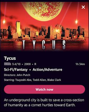 imdb tv iphone ios - tychos film detail