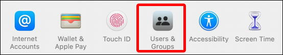macos 11 system preferences - users and accounts