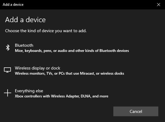 win10 pc - windows 10 - bluetooth - add a device
