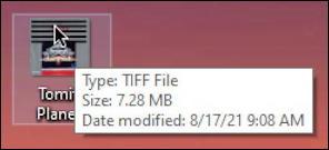 win10 convert image file format - tiff image