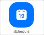 zoom - how to schedule a meeting event