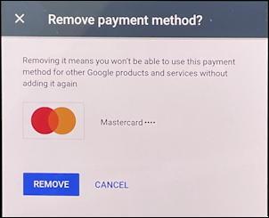 google autofill android phone device - remove delete