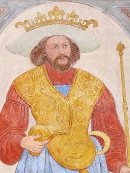king bluetooth dane viking portait