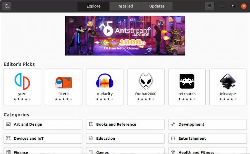ubuntu linux backgammon - software repository app store