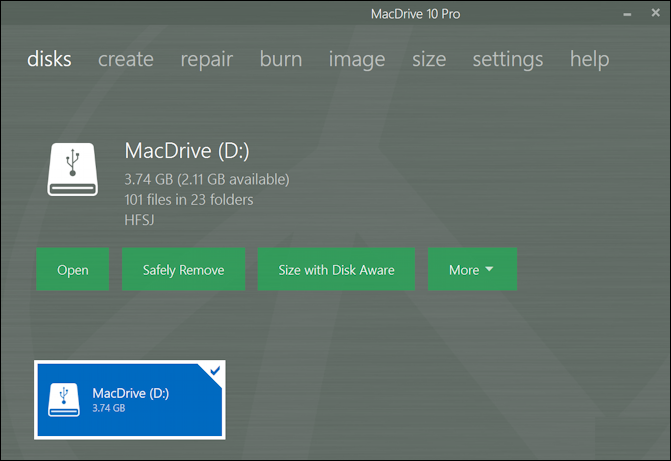 macdrive 10 pro - mac external drive plugged into windows 10 11 pc