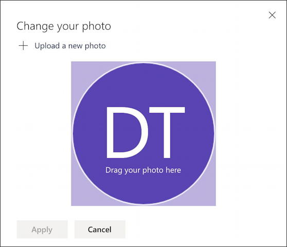 outlook.com office 365 - add photo picture