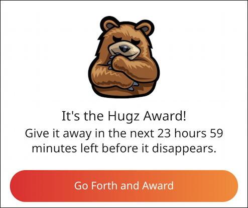 how reddit coins awards work - hugz award