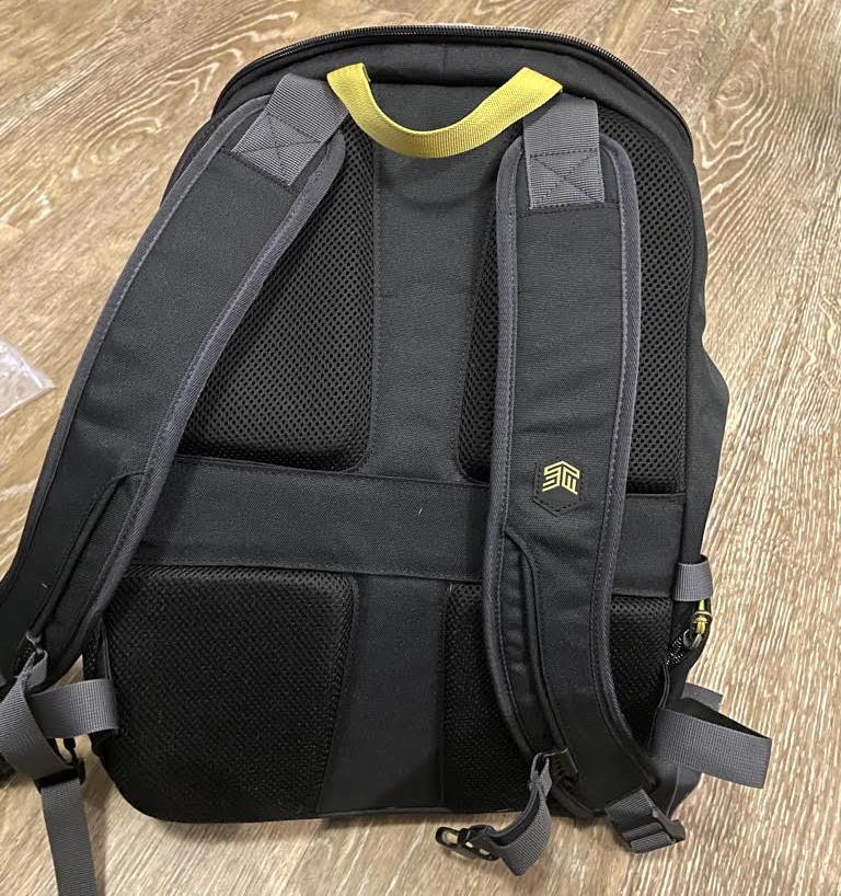 stm drifter 18l computer backpack - exterior shoulder straps