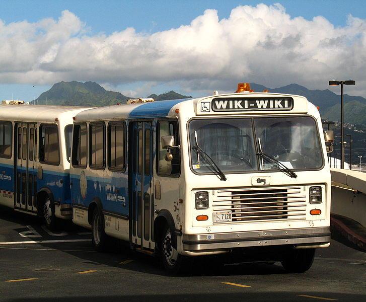 hawaiian wiki wiki bus