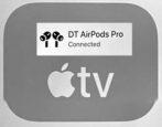 appletv pair bluetooth airpods headphones- how to tvOS 15