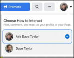 facebook business page interact as individual user account - how to 2021 2022