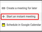 google meet how to change microphone camera webcam