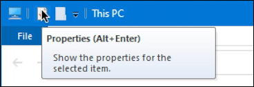 windows 10 win10 microsoft file manager - properties tooltip