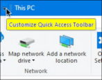 customize windows 10 file manager how to